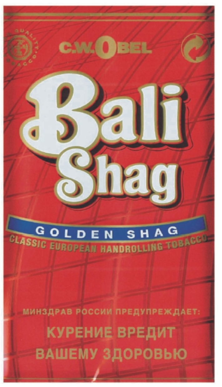 Bali Shag Red=Rounded 40g