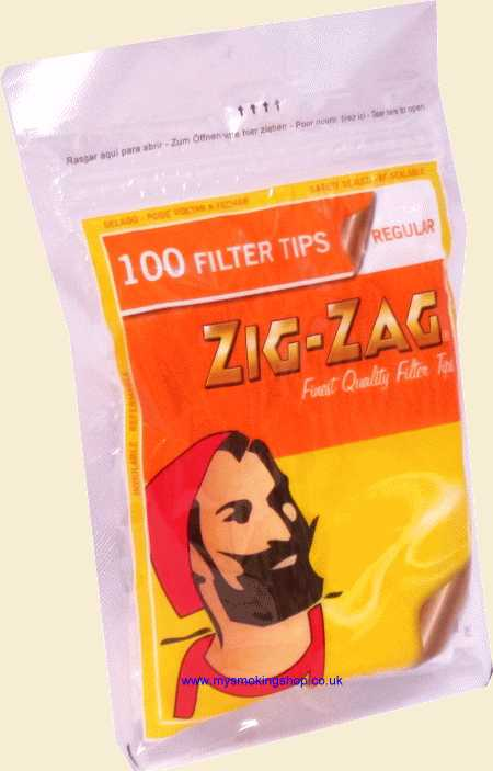 Zig-Zag Standard Filter 100 pieces